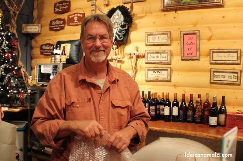 Wine tasting room Sedona