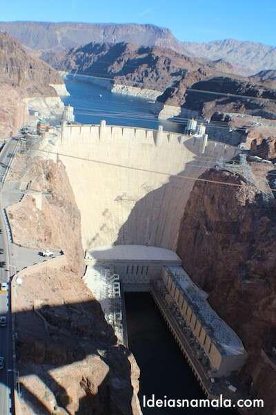 Hoover Dam visto da ponte