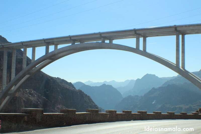 A ponte do Hoover Dam