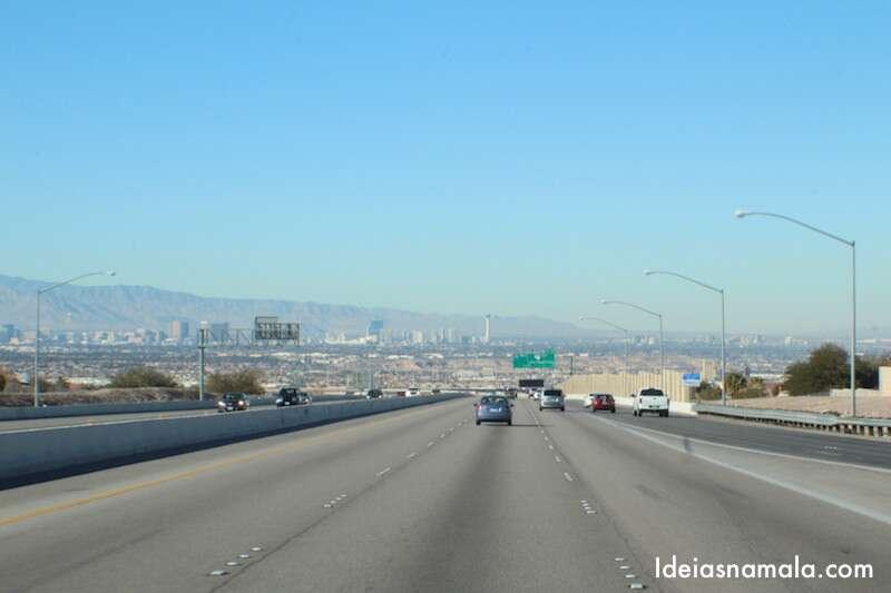 Chegando em Las Vegas