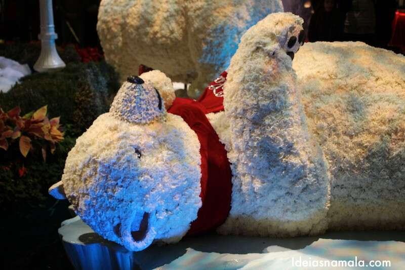 Decoração de Natal do Bellagio