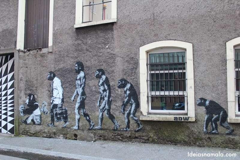 Grafites em Cork, irlanda