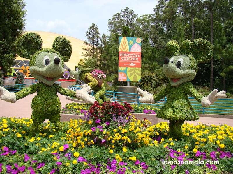 Mickey e Minnie, Epcot