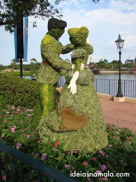 Princesas Disney, Epcot