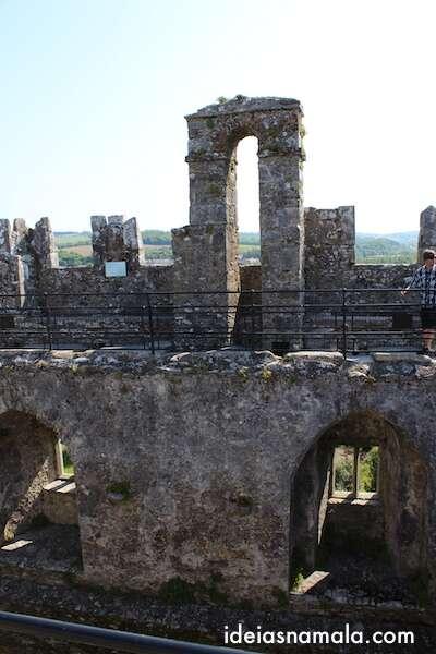 Topo do Castelo de Blarney