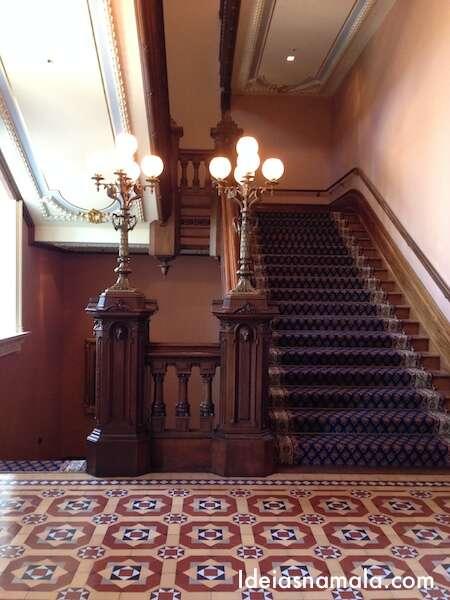 Grande escadaria California