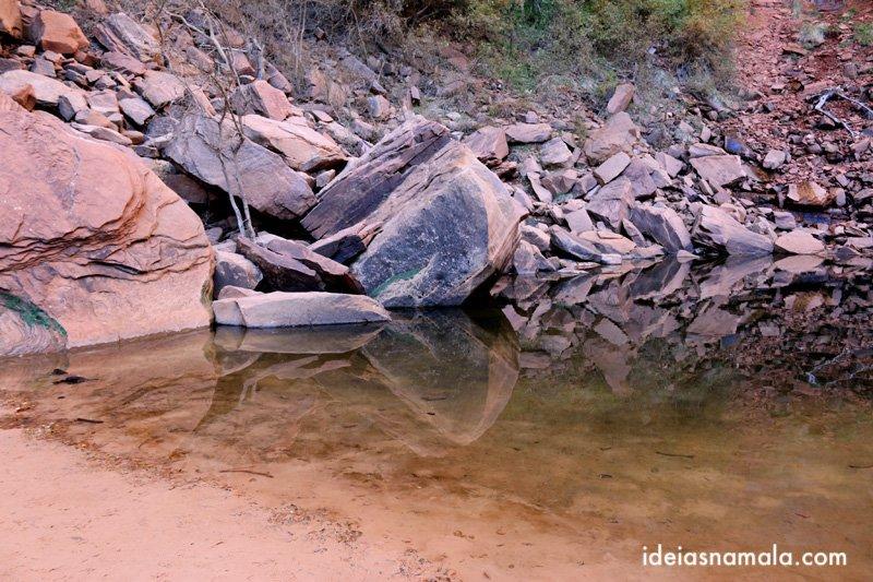 Upper Emerald Pool Trail no Zyon Park