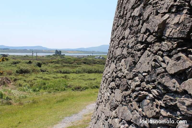 Entrada do forte Cahergall stone fort