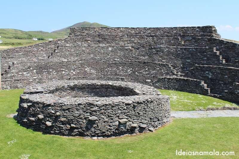 Cahergall stone fort, Irlanda