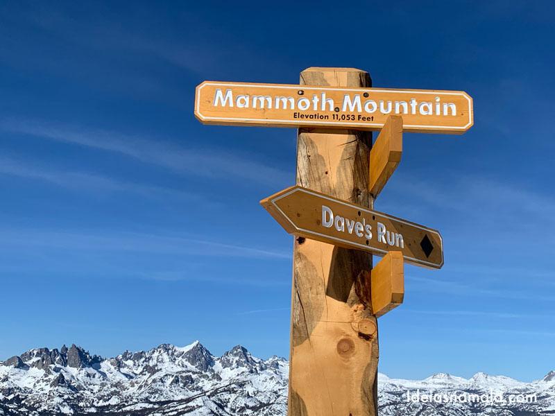 Topo da Mammoth Mountain
