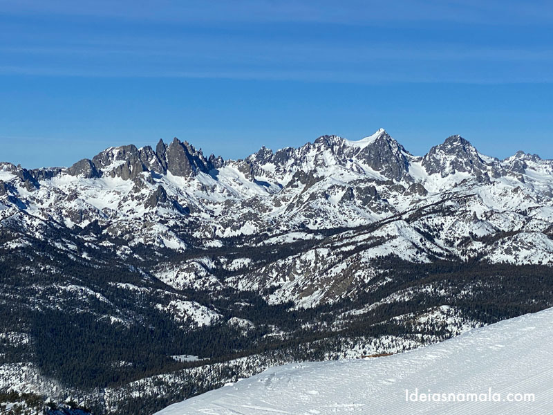 Mammoth Lakes no inverno