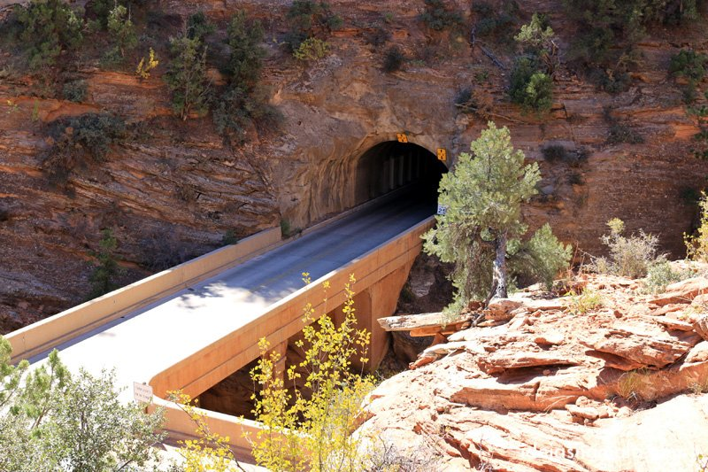 Tunel do Zion Park