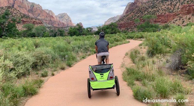 Levar nossas bicicletas, uma das vantagens de ter uma trailer