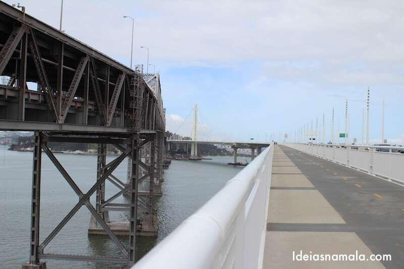 Faixa de bicicleta da Bay Bridge