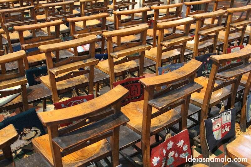 Cadeiras Catedral de St. Patrick