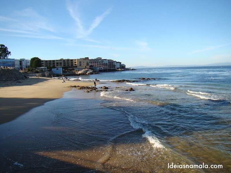 Praia em Monterey