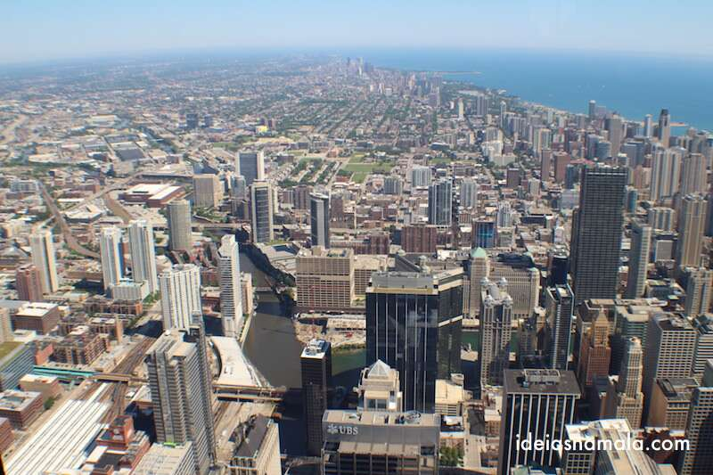 Vista do Sky Deck - Chicago