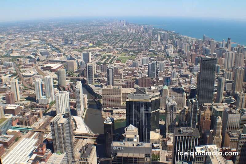 Vista do Sky Deck - Chicago