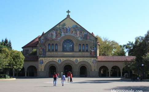 A igreja de Stanford: Memorial Church