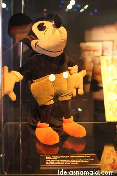 Primeiras pelúcias do Mickey