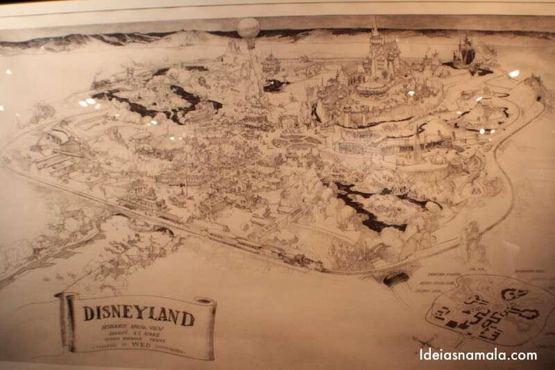 Desenho da Planta da Disney