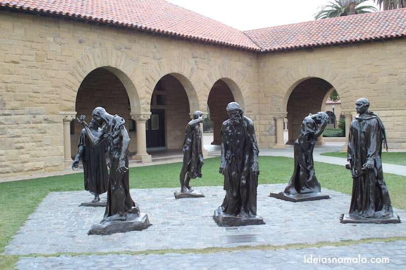 Estátua de Rodin em Stanford