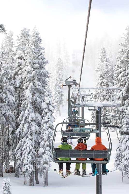 Ski em Lake Tahoe