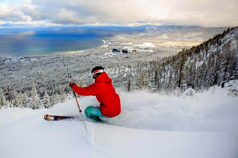 Heavenly, uma das estações mais linda de esquiar na Califórnia