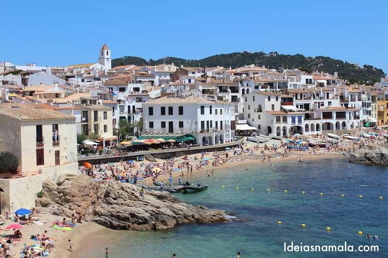 Praia de Calella - Catalunha