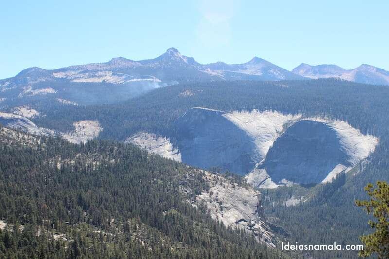Vista do pé do Half Dome
