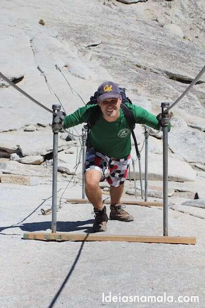 Subindo o Half Dome