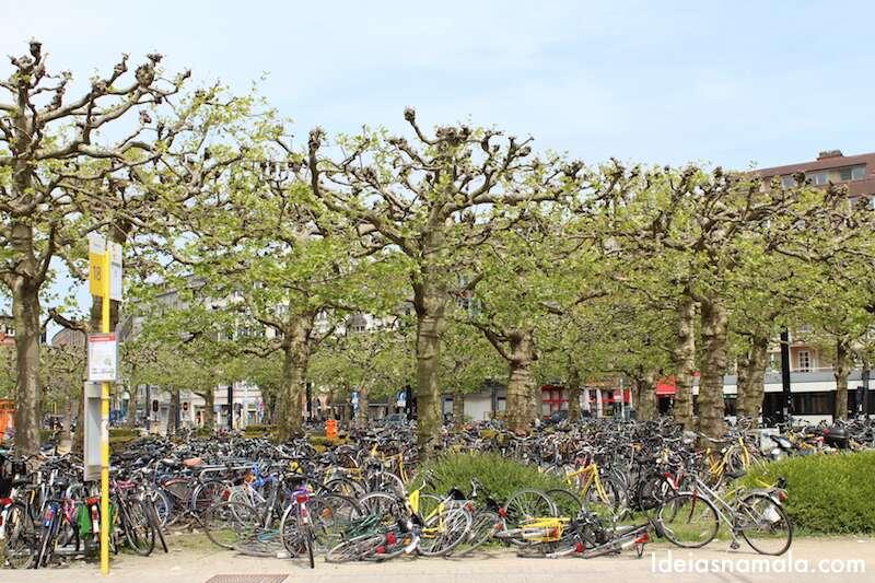Bicicletas em Gante