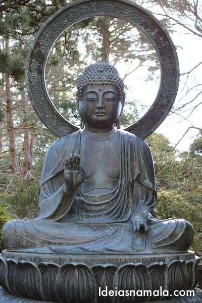 Buda de Bronze - Japanese Tea Garden