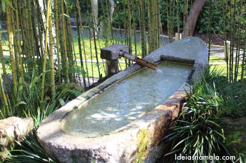 Fonte no Jardim Japonês de São Francisco