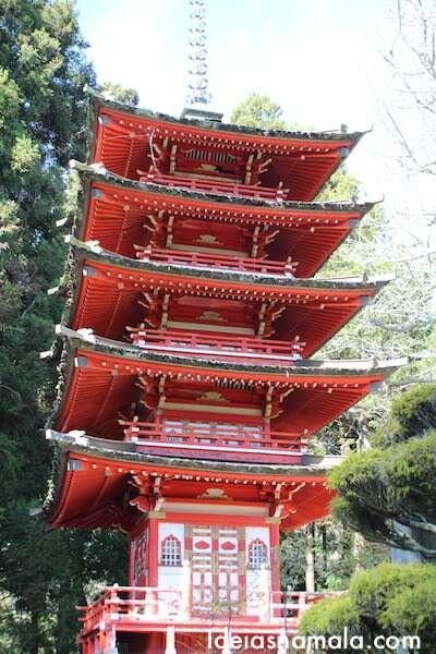 Pagode Japonês em São Francisco