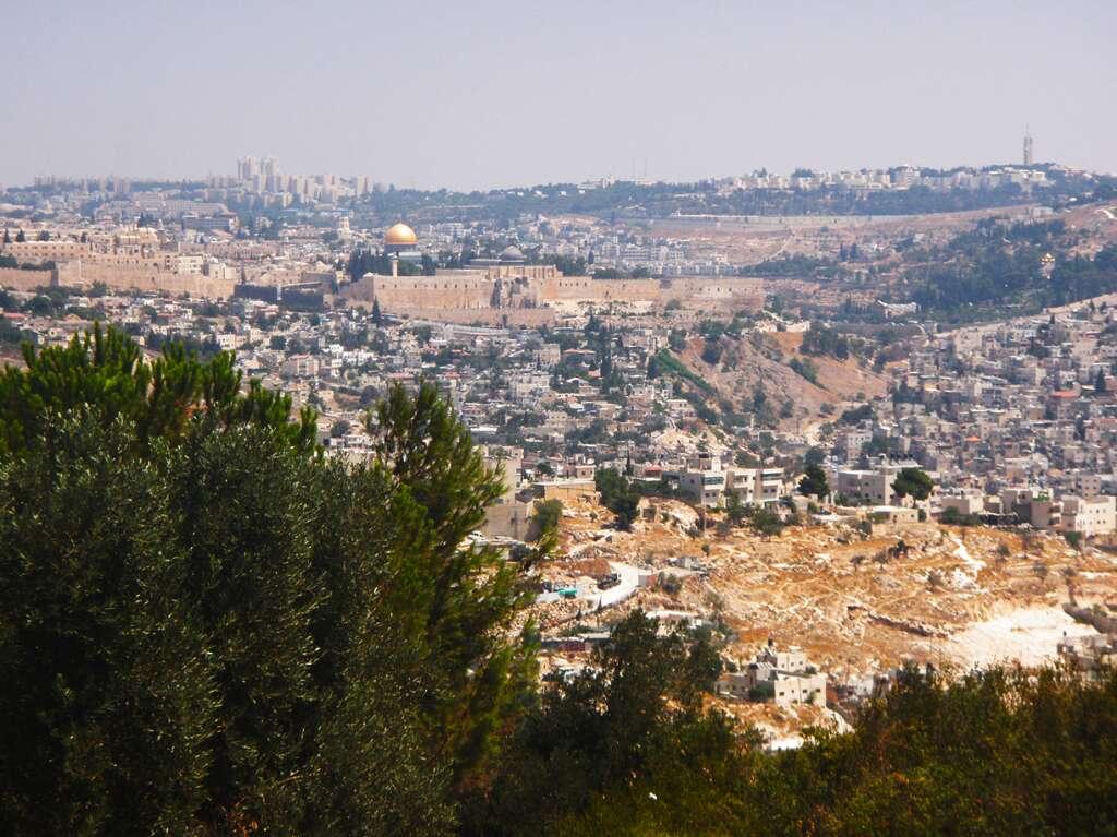 Israel vista do Yad Vashem