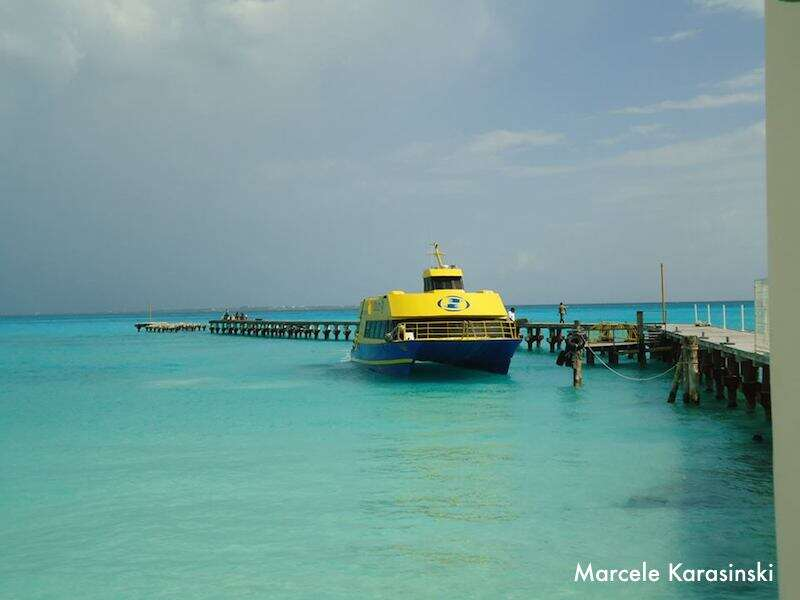 Balsa para Isla Mujeres