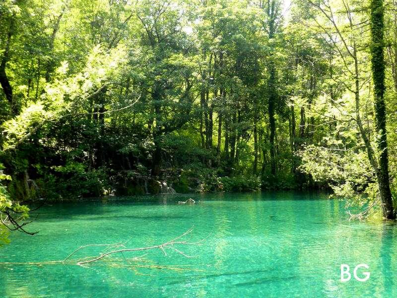 Plitvicka Jezera: lago cristalino