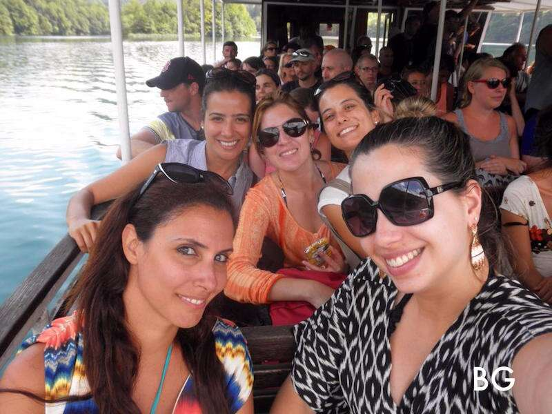 Barco na Croácia