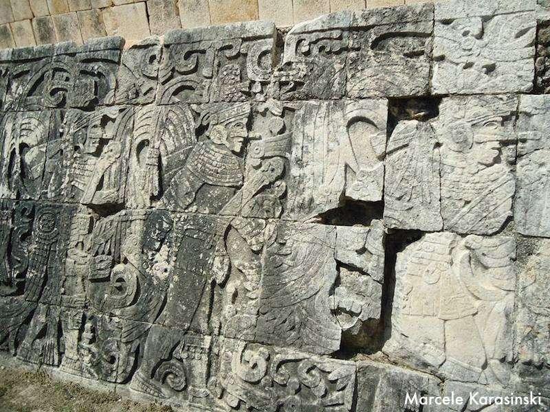Chicen Itzá - Detalhe