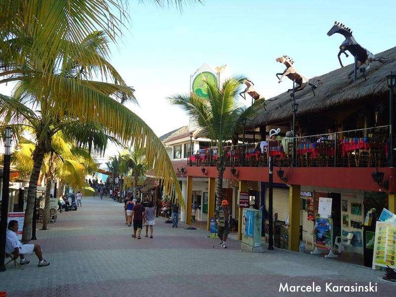 Ruas de Playa del Carmen