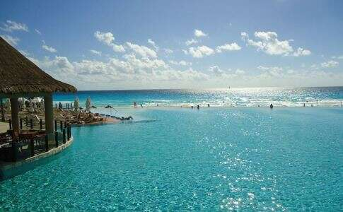 Piscina no The Westin Lagunamar em Cancun