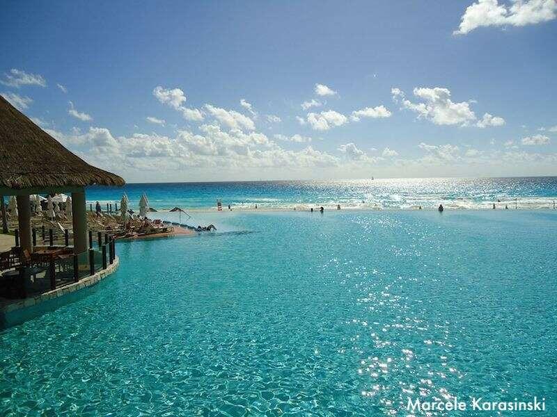 Piscina no The Westin Lagunamar em Cancun