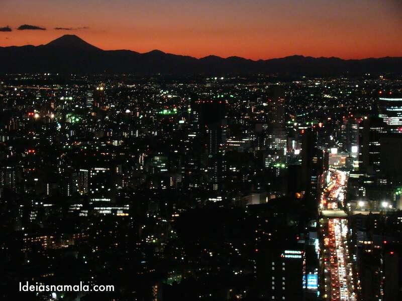 Roppongi Hills - Pôr do sol