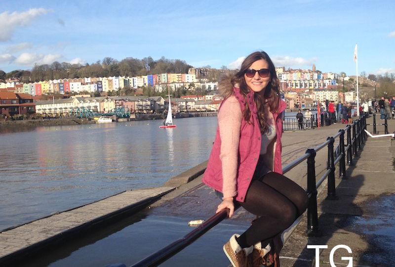 Thaís em Bristol