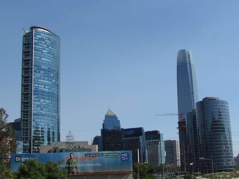 Parte moderna de Santiago