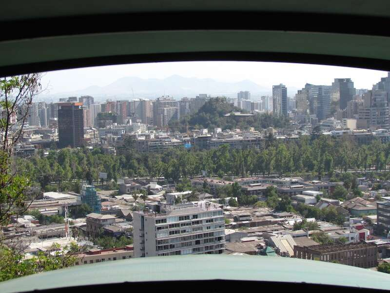 Santiago vista do Furnicular