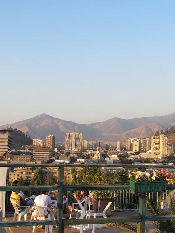 Vista do Hotel Ciudad de Vitoria - Santiago
