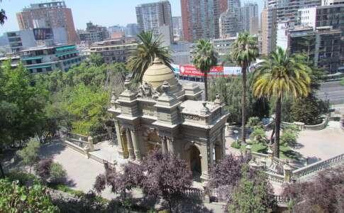Lugares para viajar sozinho: Santiago