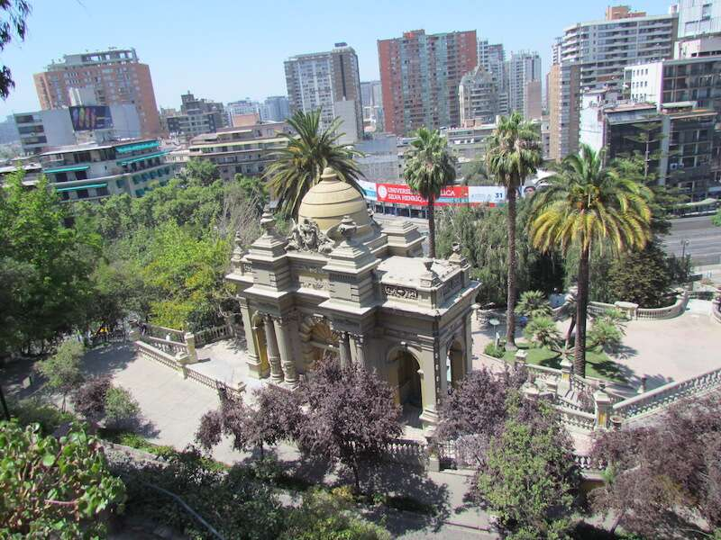 Cerro Santa Lucia - Santiago